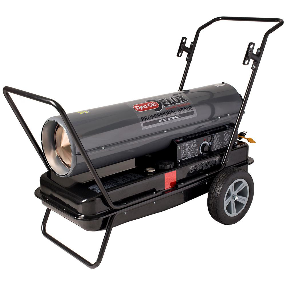 dyna glo propane heater instructions