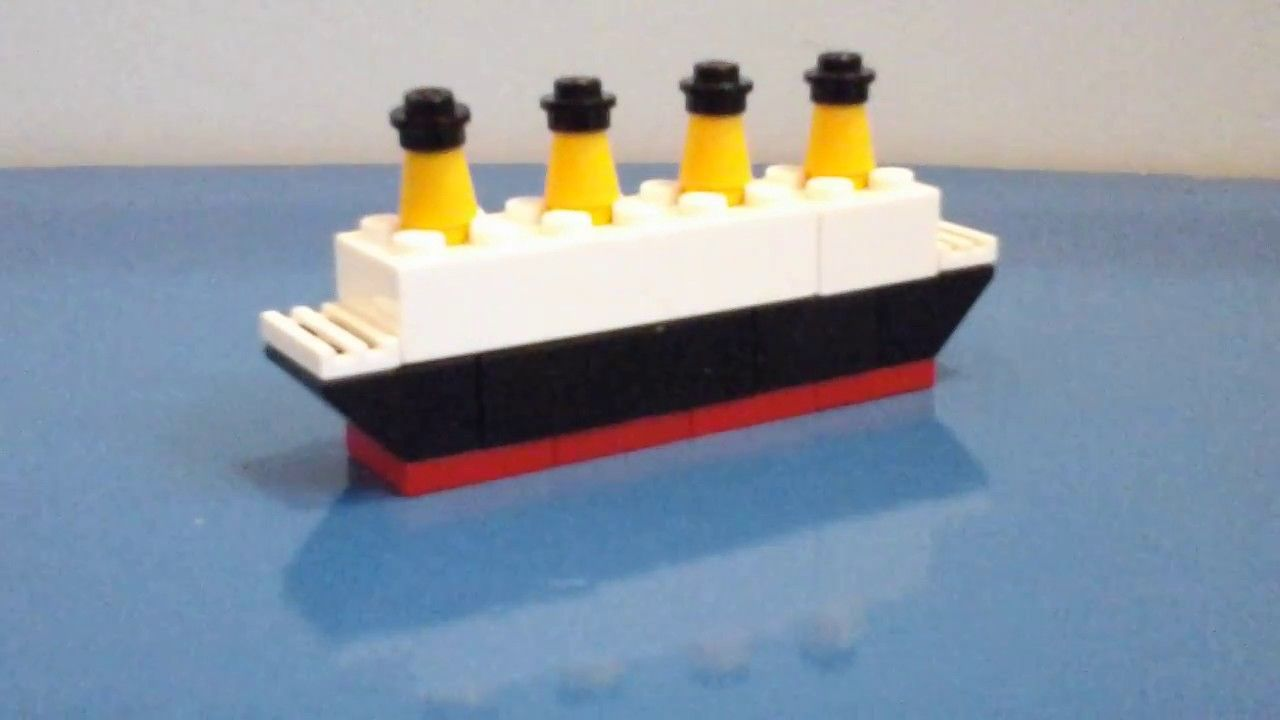 how to build a lego battleship instructions