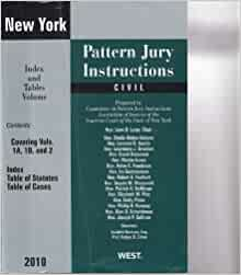 new york pattern jury instructions civil