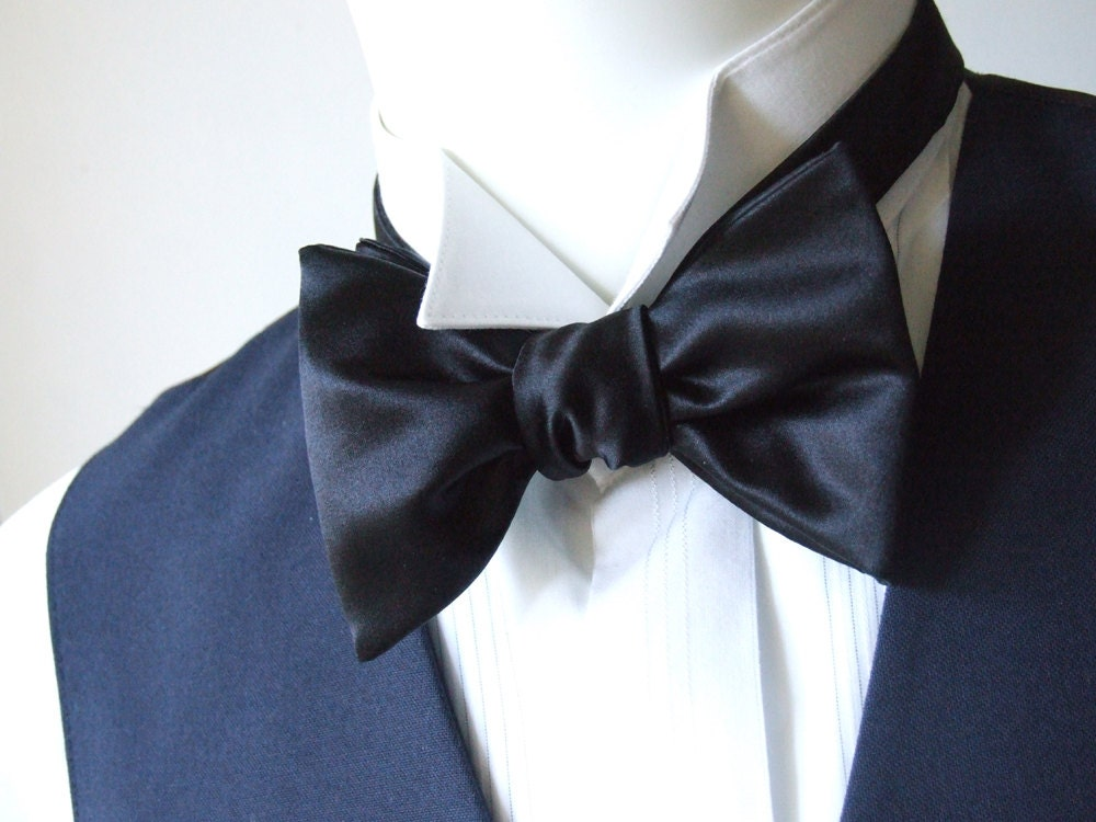 self tie bow tie instructions