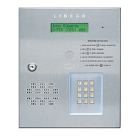 linear access telephone entry system user instructions