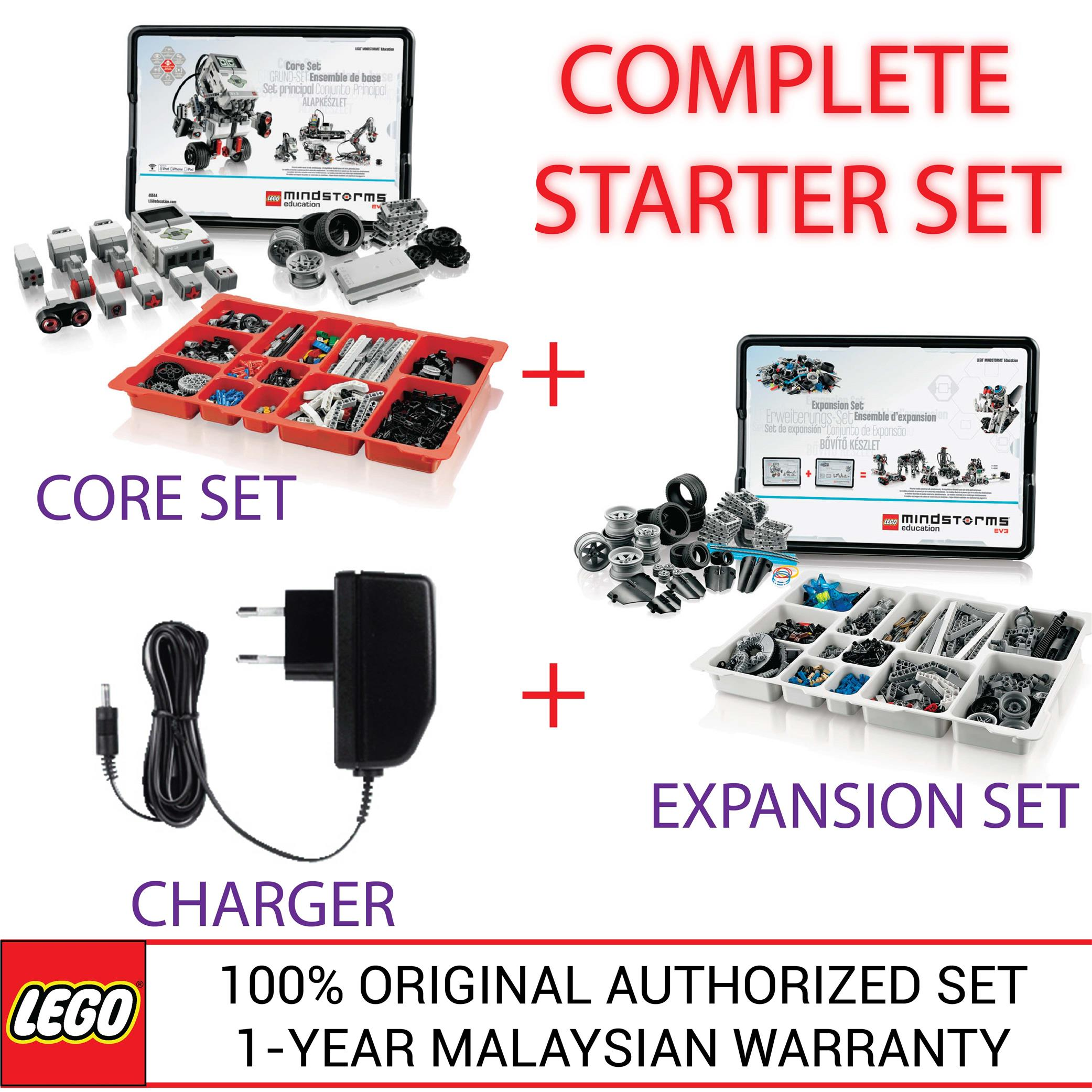 lego mindstorms education ev3 core set instructions