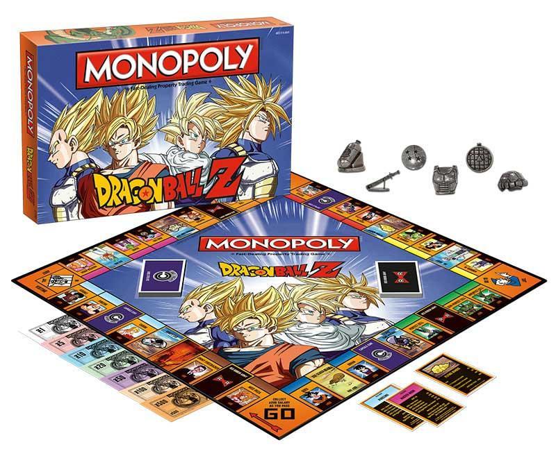 dragon ball z monopoly instructions