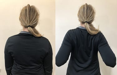 chin tuck exercise instructions