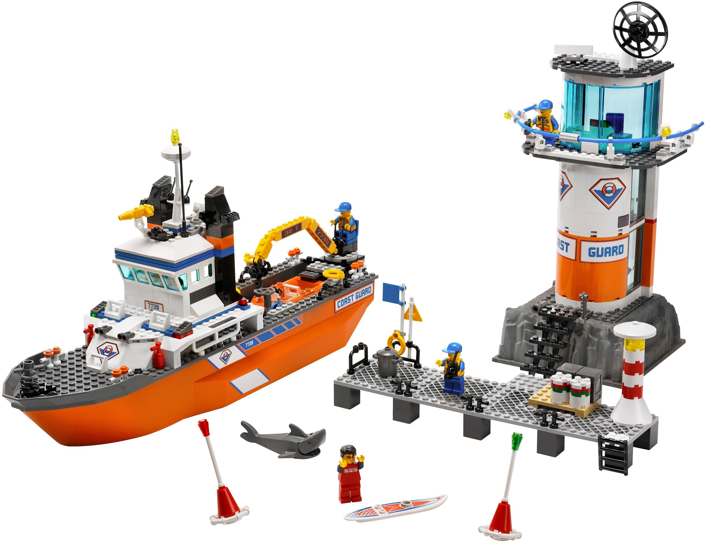 lego coast guard helicopter instructions