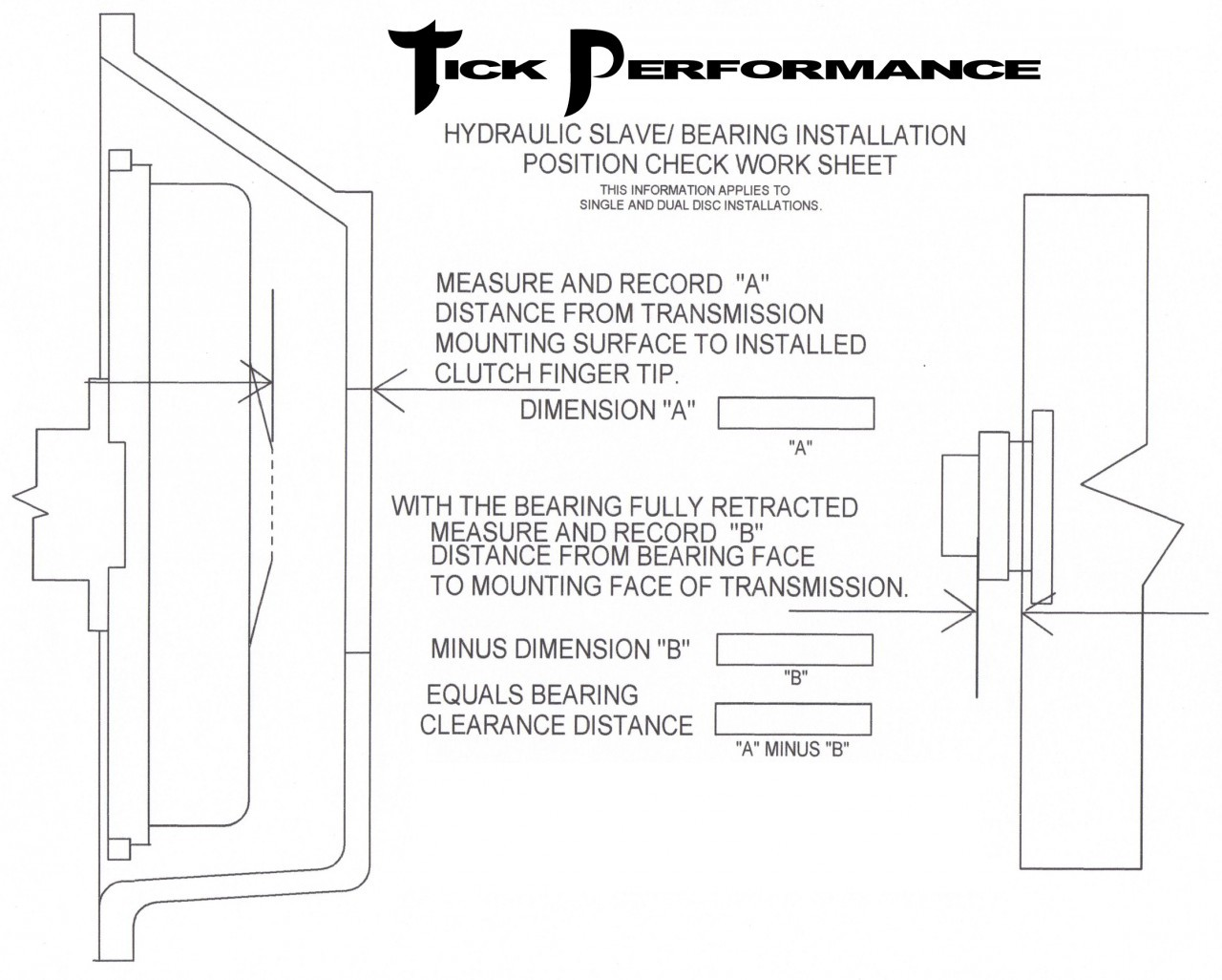 quicktime bellhousing installation instructions