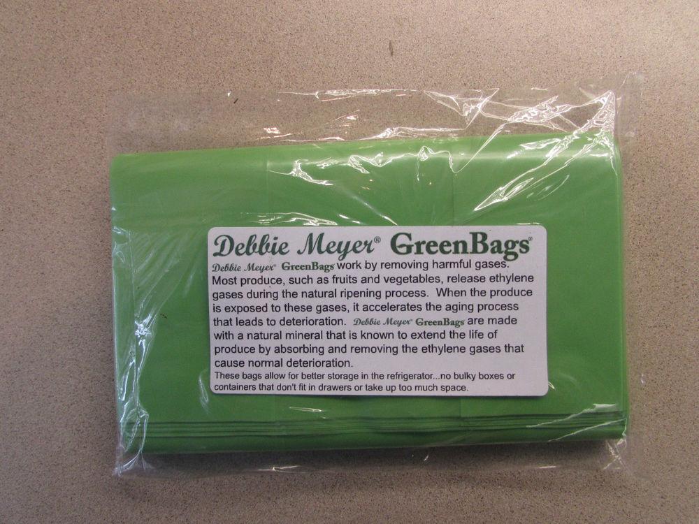 debbie meyer green bags instructions