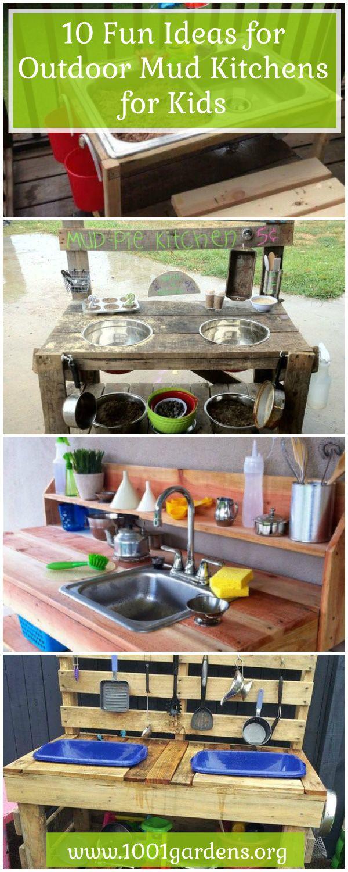 pallet mud kitchen instructions