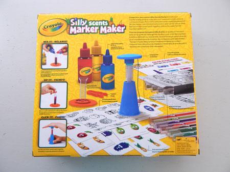 crayola marker maker instructions