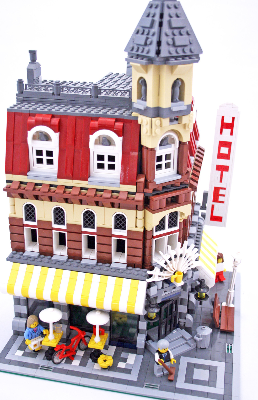 lego cafe corner instructions