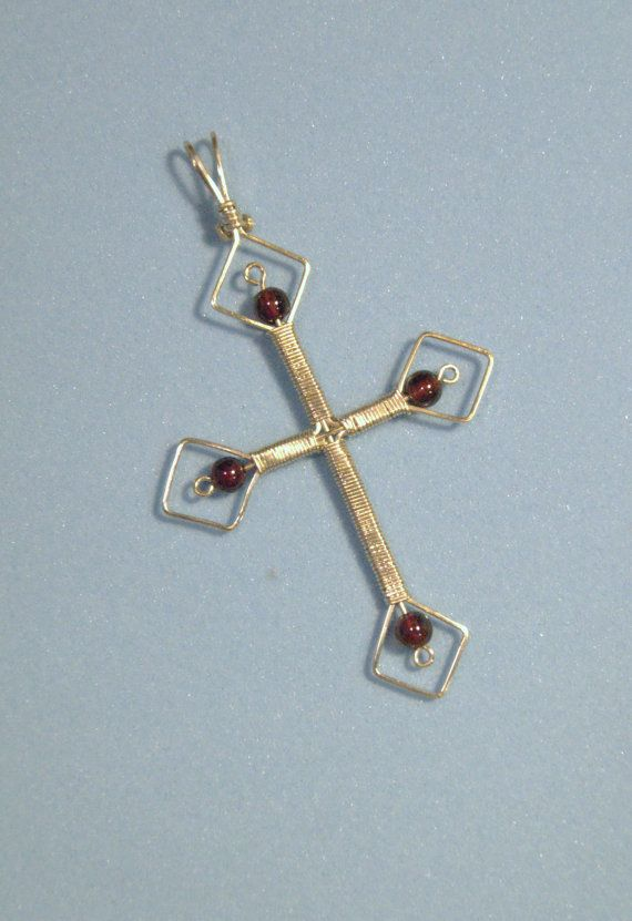 wire wrapped cross instructions