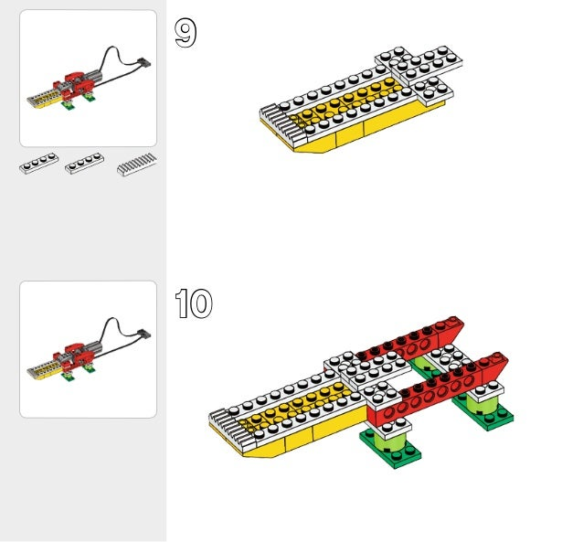 lego wedo alligator instructions