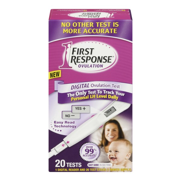 ovulation test first response instructions