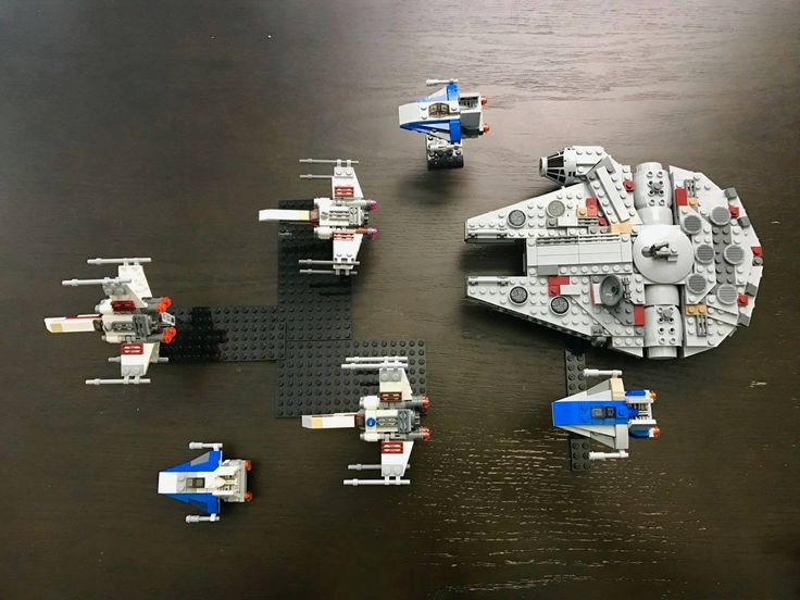 lego millennium falcon microfighter instructions