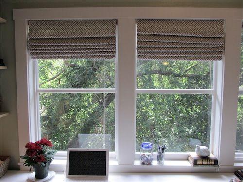 roman blinds diy instruction