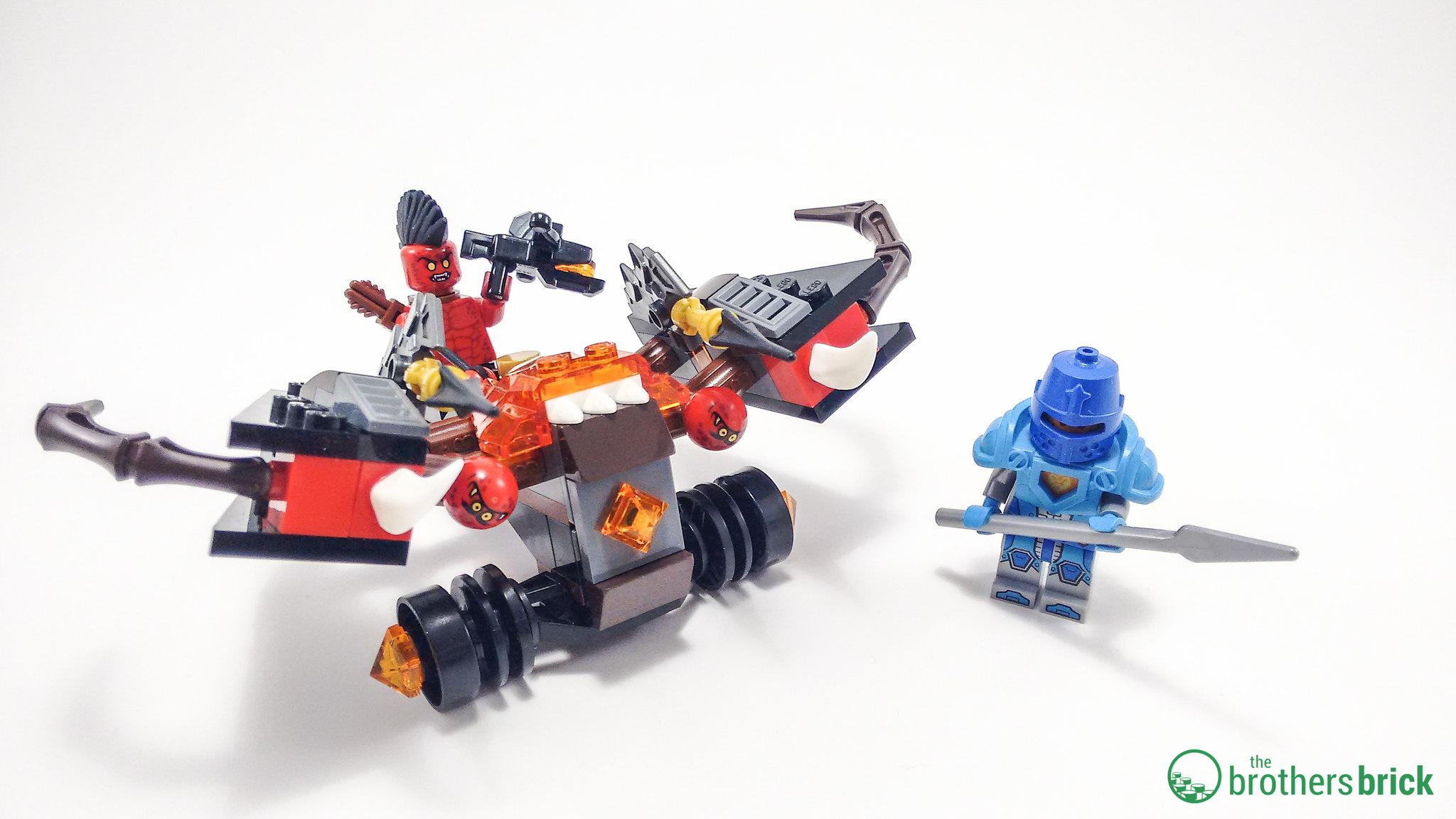 nexo knights chaos catapult instructions
