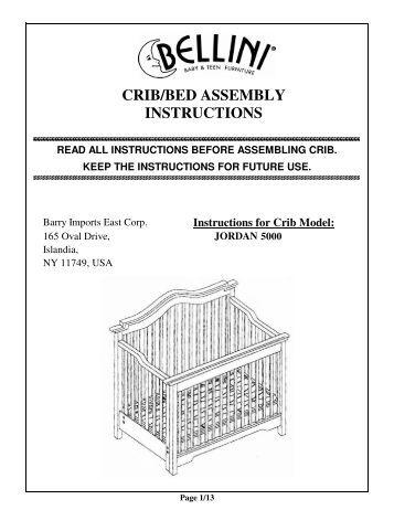 bily crib instruction manual