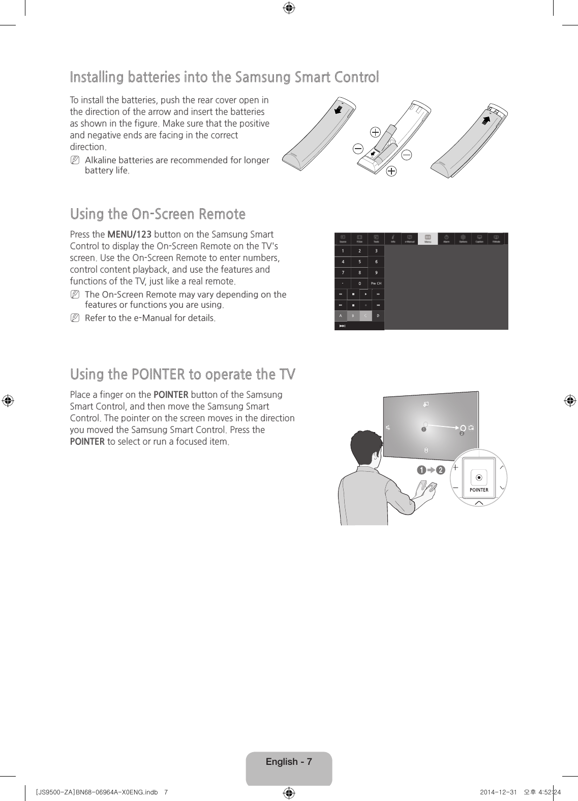 samsung smart tv instructions