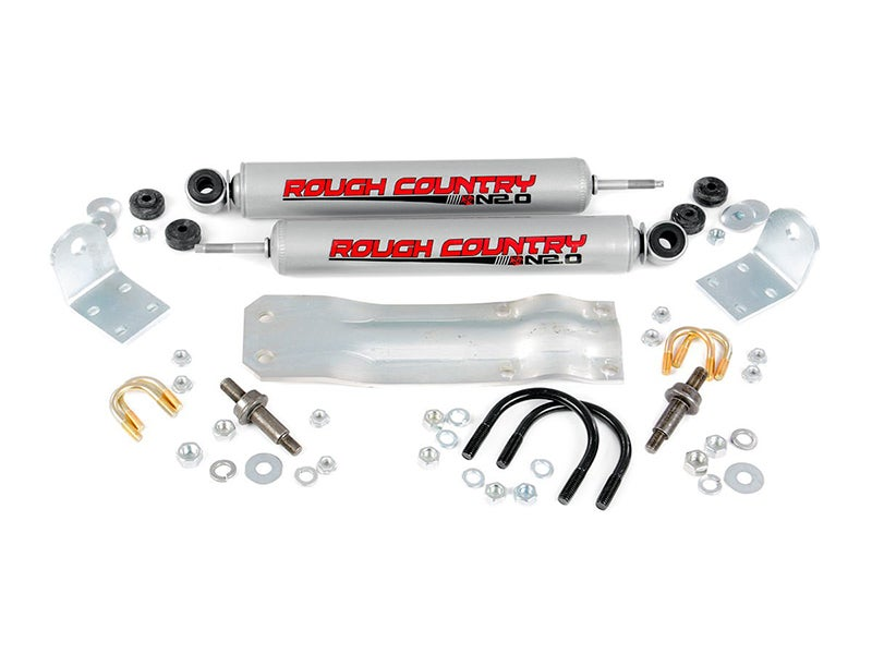 rough country dual steering stabilizer installation instructions