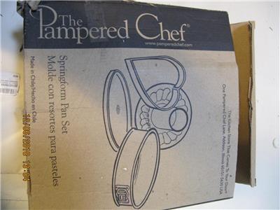 pampered chef bundt pan instructions