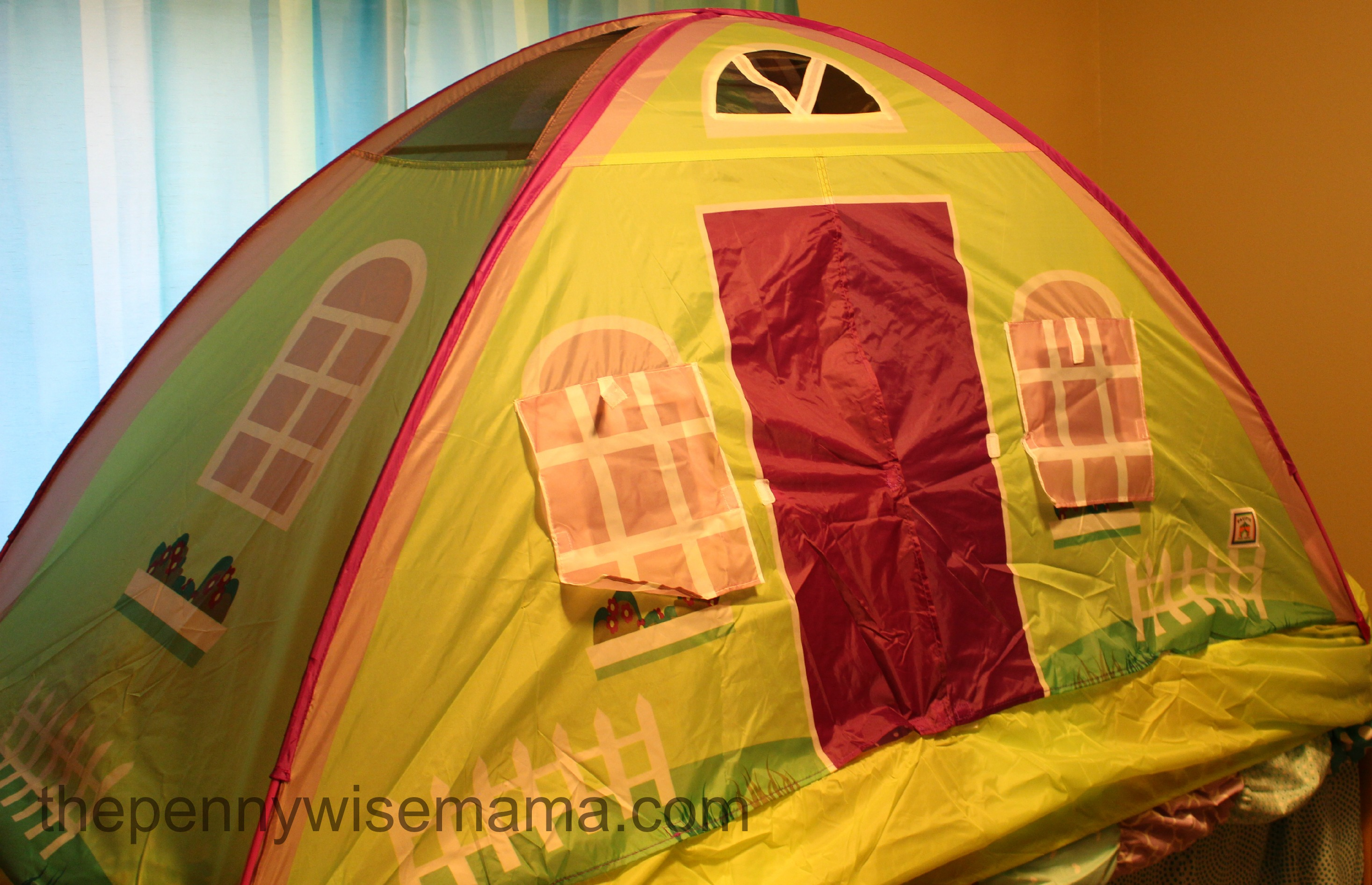 pacific play tents cottage house tent instructions