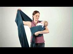 boba wrap instructions newborn