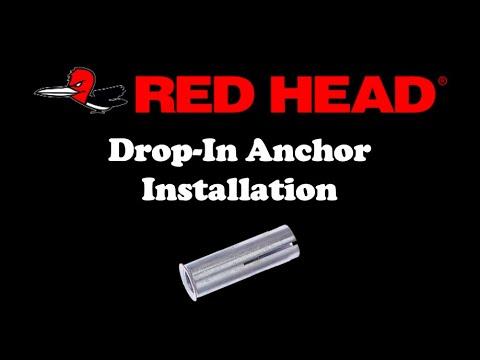 red head anchors instructions