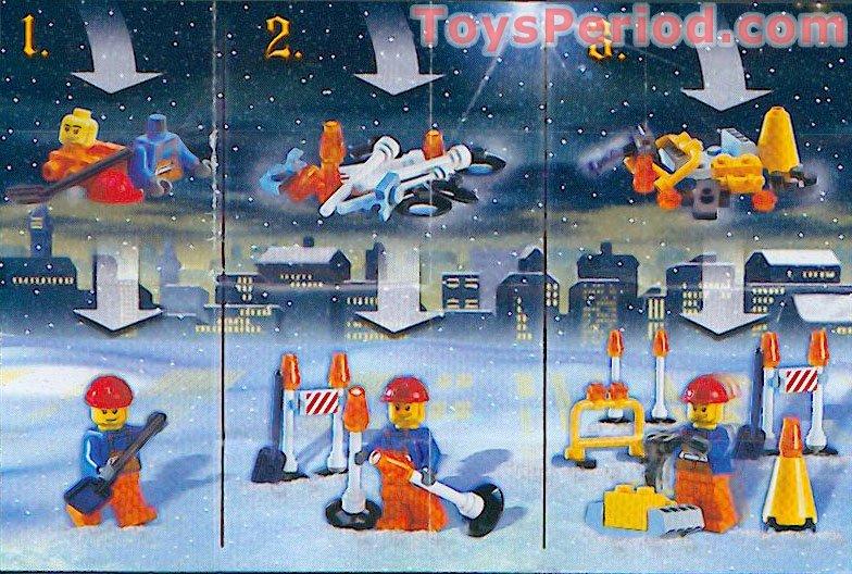 lego city advent calendar instructions
