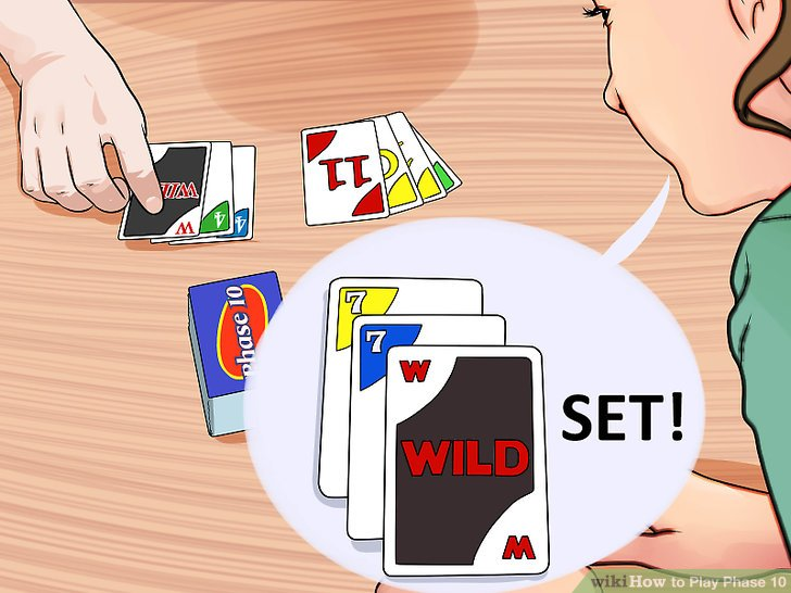 instructions on how to play phase 10