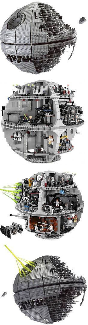 lego instructions death star