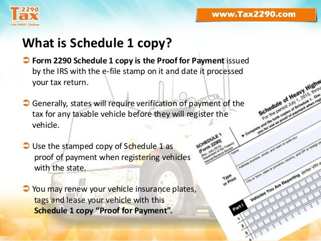 tax form 2290 instructions