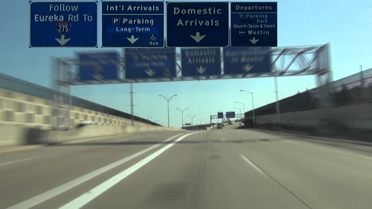 driving instructions for detroit metro airport