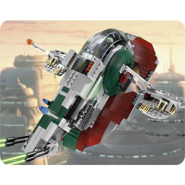 lego star wars slave 1 8097 instructions
