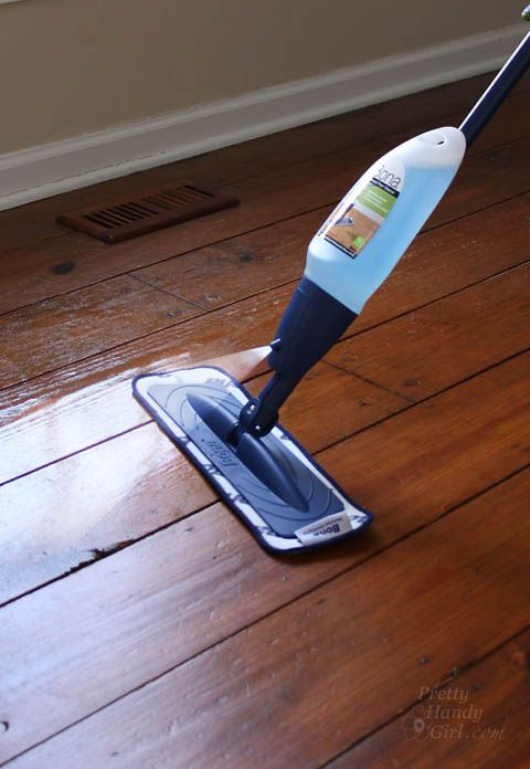 bona hardwood cleaner instructions