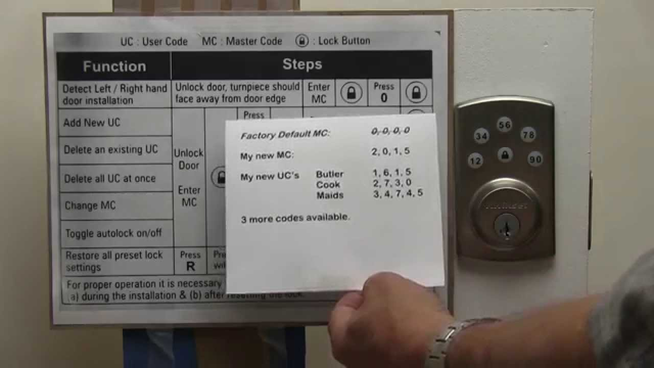 kwikset powerbolt 2 programming instructions