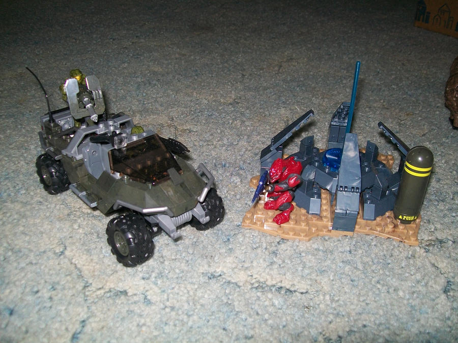 halo mega bloks warthog resistance instructions
