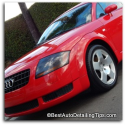 audi polymer wax polish instructions