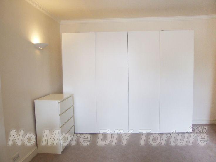 ikea pax wardrobe with hinged doors assembly instructions