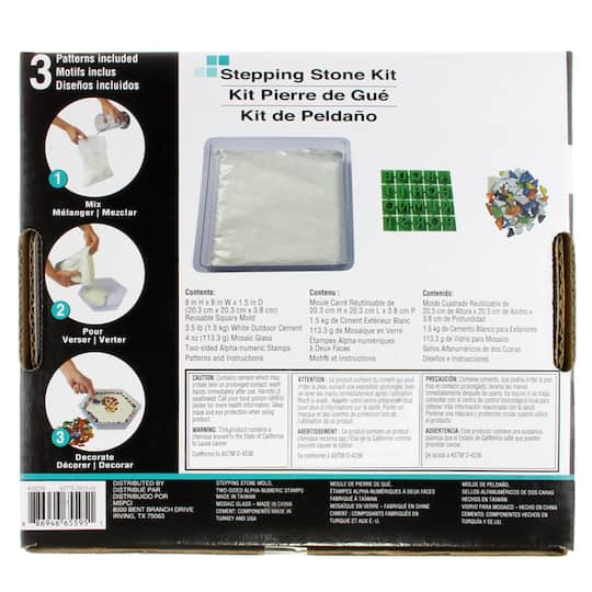 artminds stepping stone kits instructions