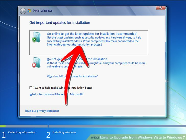 step by step instructions to install windows 7