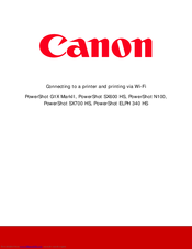 canon sx710 instruction manual