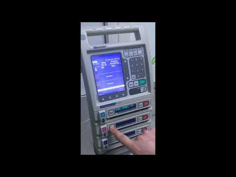 baxter infusion pump instructions