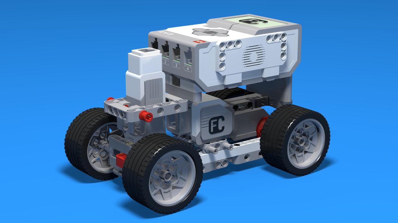 lego mindstorms ev3 race car instructions