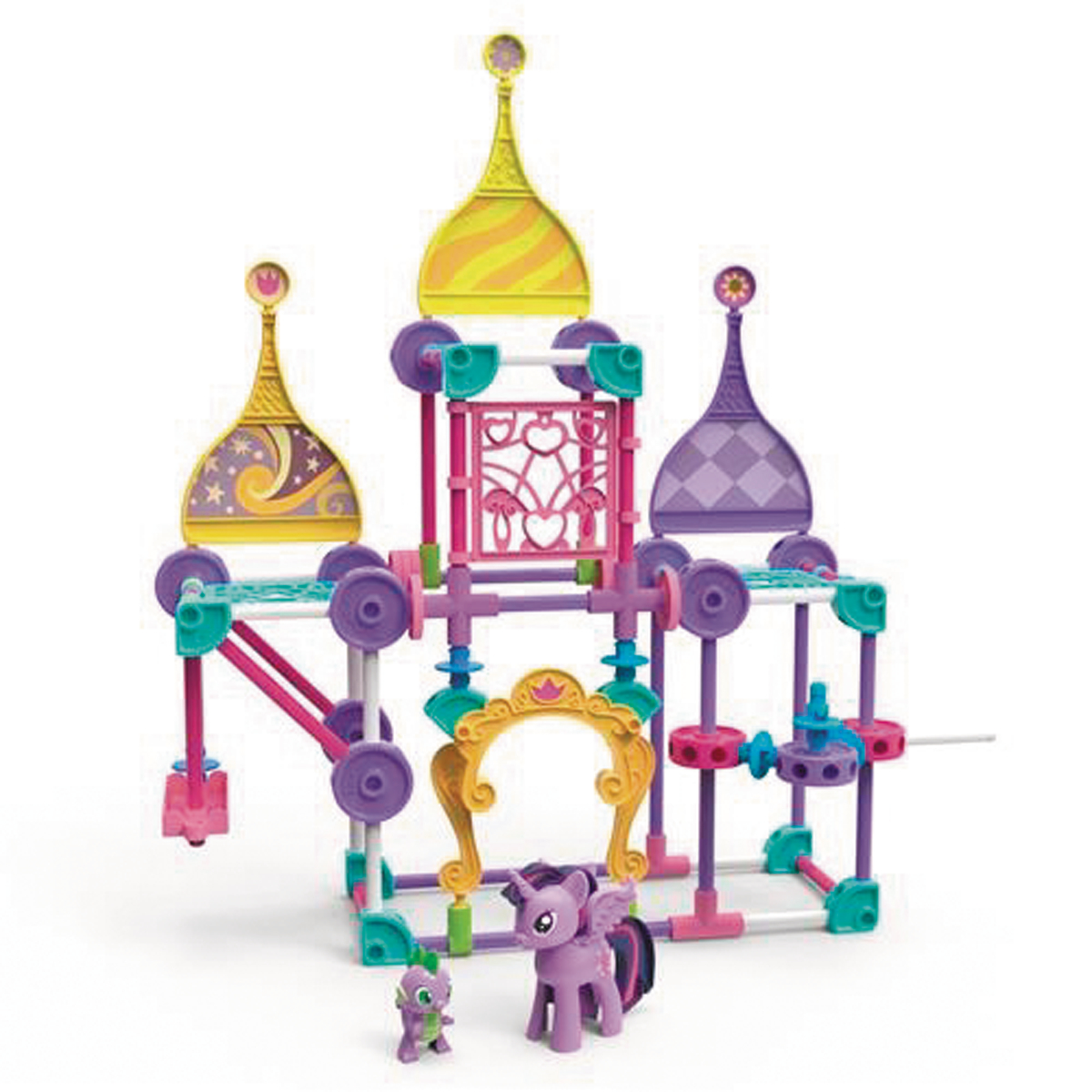 twilight sparkle castle instructions