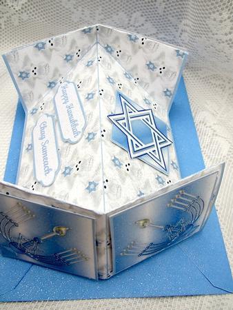diamond fold card instructions