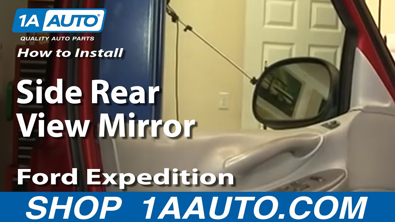 ford f150 mirror replacement instructions