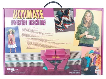 ultimate sweater machine instructions