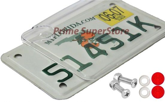 license plate fastener instructions