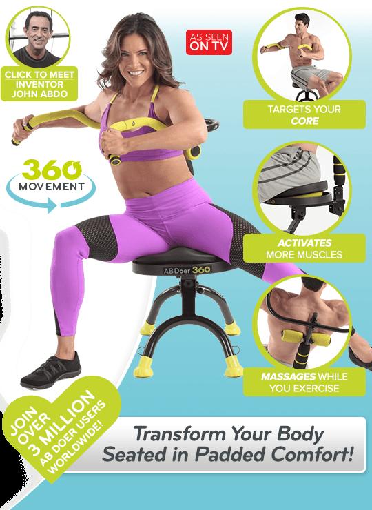 ab doer pro model workout instructions video