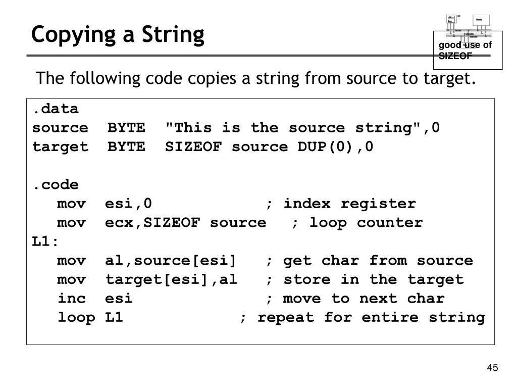 intel instruction set architecture